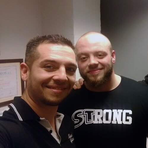 Domenic Fazzani –British Powerlifting Champion
